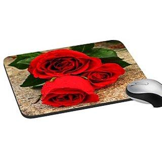 Mesleep Rose Digitally Printed Mouse Pads