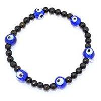 Kriti Feng Shui Lapis Lazuli With Evil Eye Bracelet