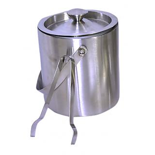 Double wall Ice Bucket and ice tong set