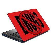 meSleep Say No To Drugs Laptop Skin