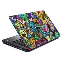 meSleep Face Graffiti Laptop Skin