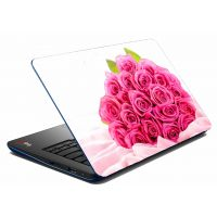 MeSleep Pink Rose Laptop Skin
