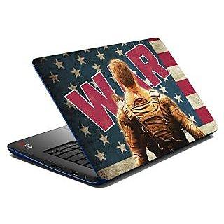 meSleep War Soldier Laptop Skin