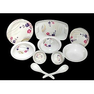 32 Pcs My Kitchen Melamine Dinner Set- Suitcase Packing Design 3