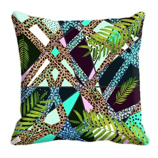 Mesleep Nature  Digitally Printed  16X16 Inch Cushion Cover Fine