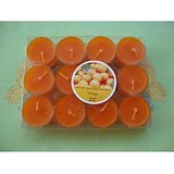A Set Of Special Perfumed Candles (orange) -12 Pcs