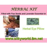 10 Hot And Cold Therapy Herbal Eye Pillow Filled With Flax Seeds And Scented With Essential Oils