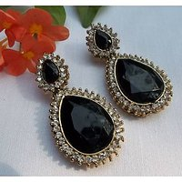 Black Stone ZX earring