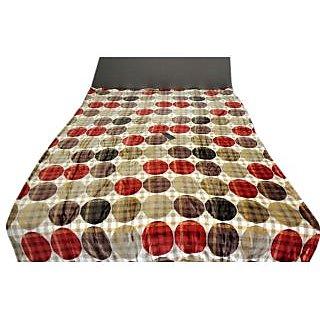 Valtellina Beautiful Multi Circles Design Double Bed AC Blanket (LVD-007)