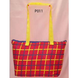 P011 Ladies Tote Hand Bag (Cloth)  available at shopclues for Rs.288