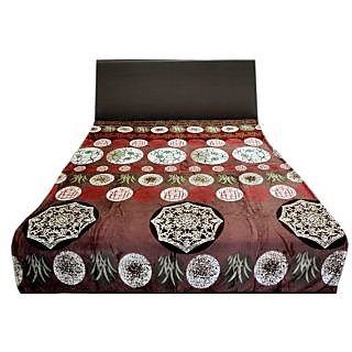 Valtellina Winsome Big Circles Design Double Bed AC Blanket (LVD-024)