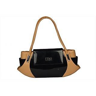 BH Wholesale Market Black/Khaki Hand/Shoulder Bag For Women