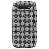 Amzer 92257 Luxe Argyle High Gloss TPU Soft Gel Skin Case - Clear