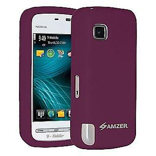 Amzer 87752 Silicone Skin Jelly Case - Purple
