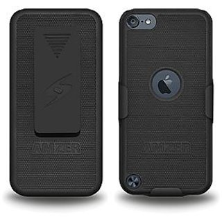 Amzer 94879 Shellster™ - Black for iPod Touch 5th Gen