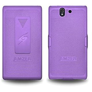 Amzer 95635 Shellster™ - Purple for Sony Xperia Z L36i