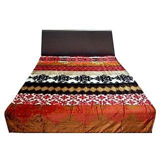 Valtellina Lovely Multi Traditional Design Single Bed AC Blanket (LVS-022)