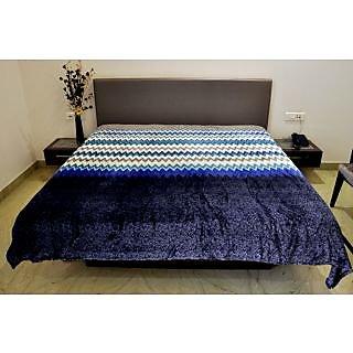Valtellina Zig Zag Design Double Bed AC Blanket (PFD-002)
