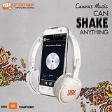 Micromax A88 Canvas Music (White)