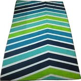 JBG  Home Store Multistripes  Printed Cotton Bath Towel