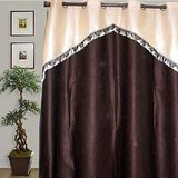 JBG  Home Store  Fancy Lace Design Long Door Curtain(9 Ft)