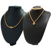 Womens Trendz Combo Pack of 2 Kolhapuri Necklace