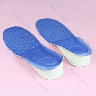 Height Increasing Insoles Heels Shoe Pads For MEN AND WOMEN 1 Pair.