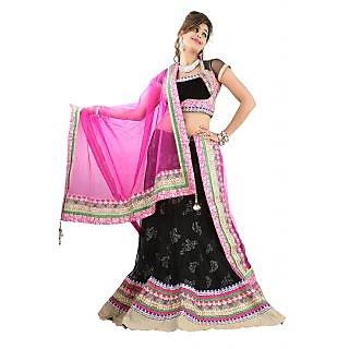 Aristocratic Embroidered Wedding Wear Net Lehenga Choli 10026
