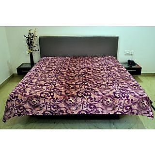 Valtellina Good-Looking Arabic Design Single Bed AC Blanket (PFS-018)