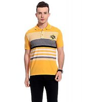 Tab91 Mod Men Cotton Stripes T-Shirt