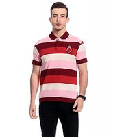 Tab91 Latest Men Cotton Stripes T-Shirt