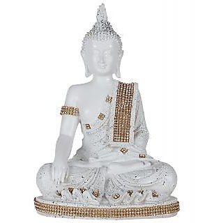 TiiKart Meditating Buddha Sculpture