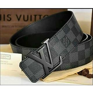 Louis Vuitton LV Belt For Men Original Belt With Lv Bill ...