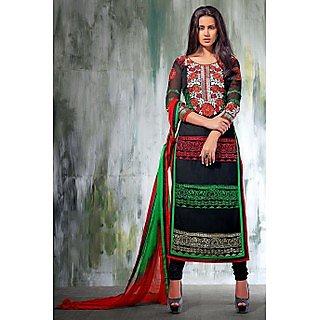 Ethnicbasket Festival Black-Salwar KameezAnarkali Suit