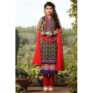 Ethnicbasket Party Wear Mehndi Dress materials Anarkali Suit