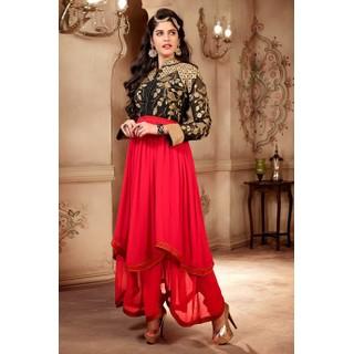 Ethnicbasket Designer Black & Pink Anarkali SuitAnarkali Suit