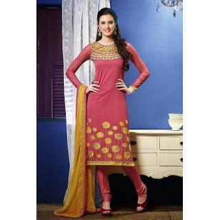 Ethnicbasket Dusty Pink Salwar KameezAnarkali Suit