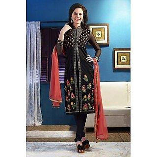 Ethnicbasket Black Salwar KameezAnarkali Suit
