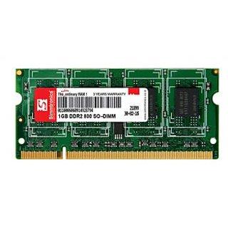 SIMMTRONICS SO-DIMM RAM DDR2 1 GB 800Mhz