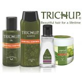 Trichup Aanti Hair Fall Kit- Hair Oil, Shampoo, Hair Fall Control Cream & Silky Potion (serum)