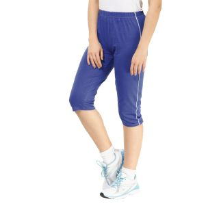 ESPRESSO-ROYAL BLUE WOMENS CAPRI