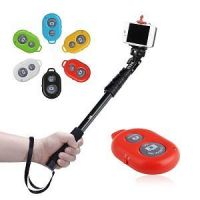 salfie stick with bluetoooth remote