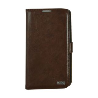 Flip Case For N 7100/Samsung Galaxy Note 2 / Brown Colour