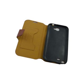 Convenient Flip Case For N 7100/Samsung Galaxy Note 2 / Brown Colour
