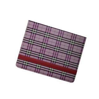 Ipad Case For All Ipads- Checks Designs/ Purple Color