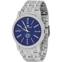 Tigerhills Round Dial Silver Metal Strap Mens Watch