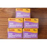 KODAK COLOUR PLUS 200 ROLL FOR 36 COLOUR PRINTS PACK OF 5