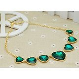 Grabito New Style Fashion Personality Exaggerated Heart Necklace Jewelry