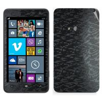 Snooky Mobile Skin Sticker For Nokia Lumia 625 Black 21001