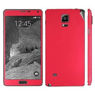 Snooky Mobile Skin Sticker For Samsung Galaxy Note 4 Red 20745